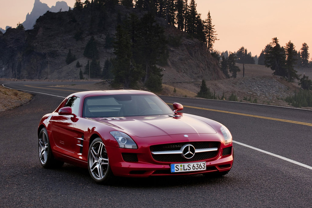 2014 Mercedes-Benz SLS AMG Photo