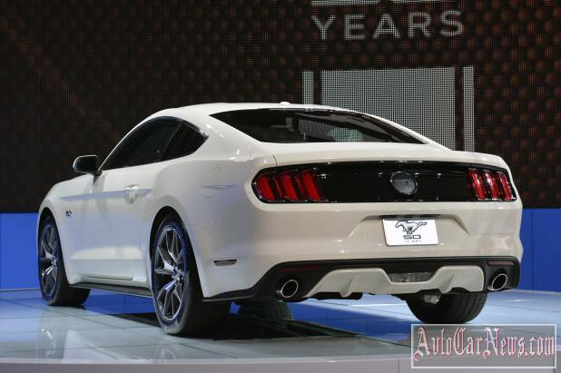 2015 Ford Mustang 50 Year New-York 2014 photo