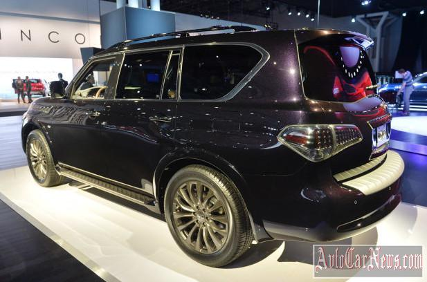 2015 Infiniti QX80 2014 New York photo