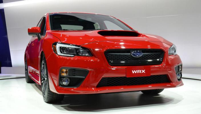 2015 Subaru WRX First Drive Photo