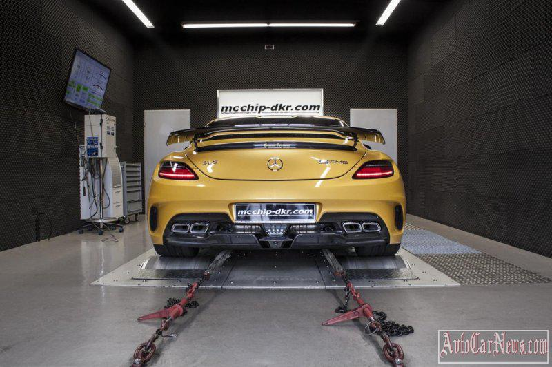 Mercedes Benz SLS63 AMG Mcchip DKR Photo