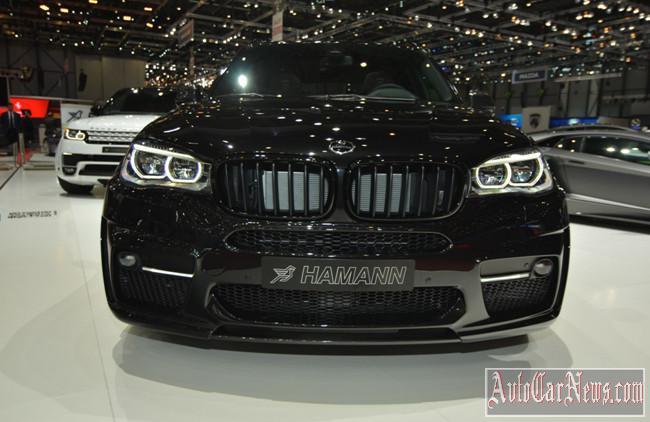 Geneva motor show Hamann BMW X5 2014 photo