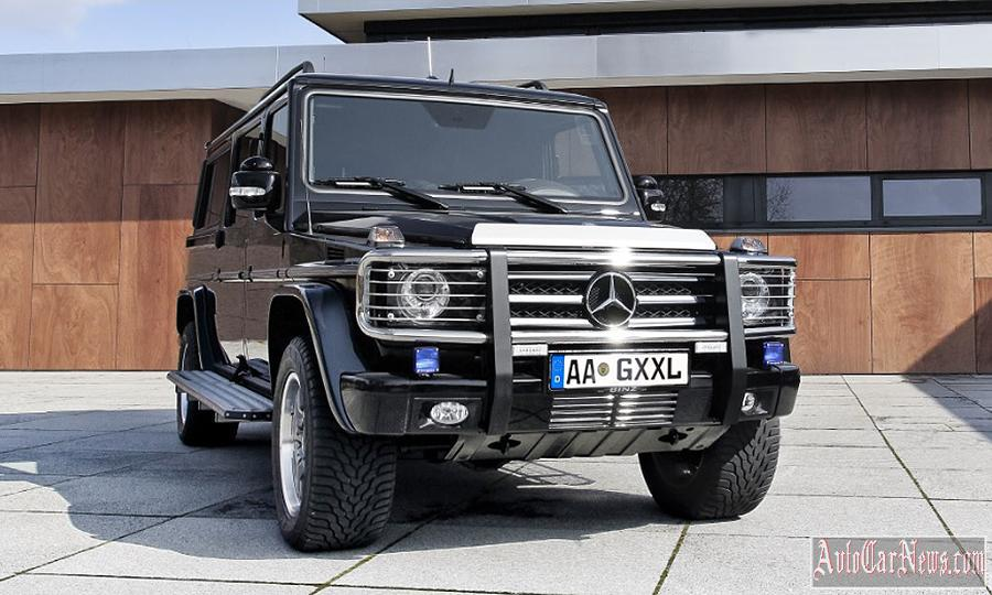 Novyj Mercedes Benz g-class w463 photo