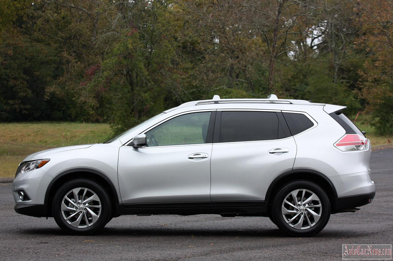 2014 Nissan X-Trail (Roque) First Drive Photo's