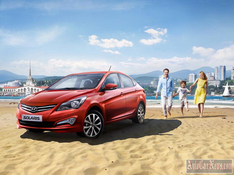 New Hyundai Solaris 2015 Photos