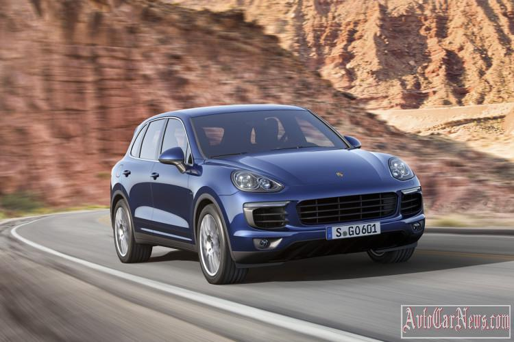2015 Porsche Cayenne 958 Photos