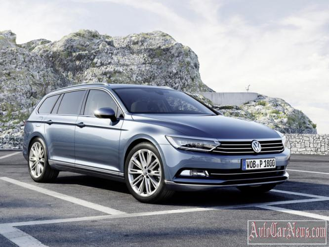 2015 Volkswagen Passat B8 photo gallery