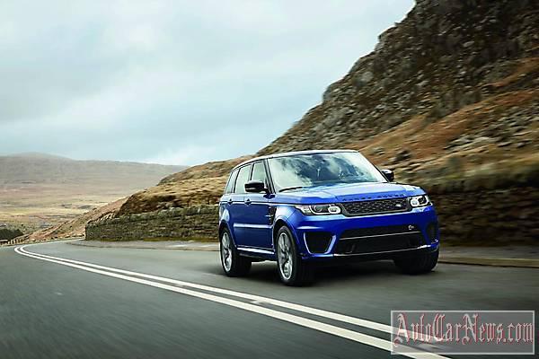 New 2015 Range Rover Sport SVR Photos