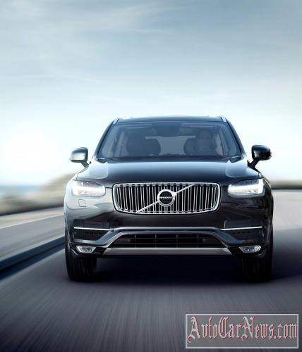2015 Volvo XC90 First Edition Photos