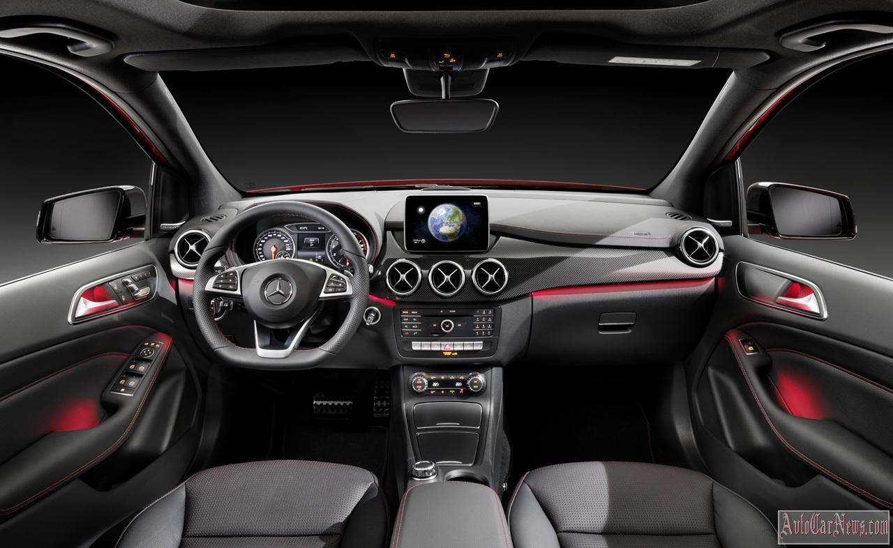 2015 Mercedes-Benz B-Class Photos