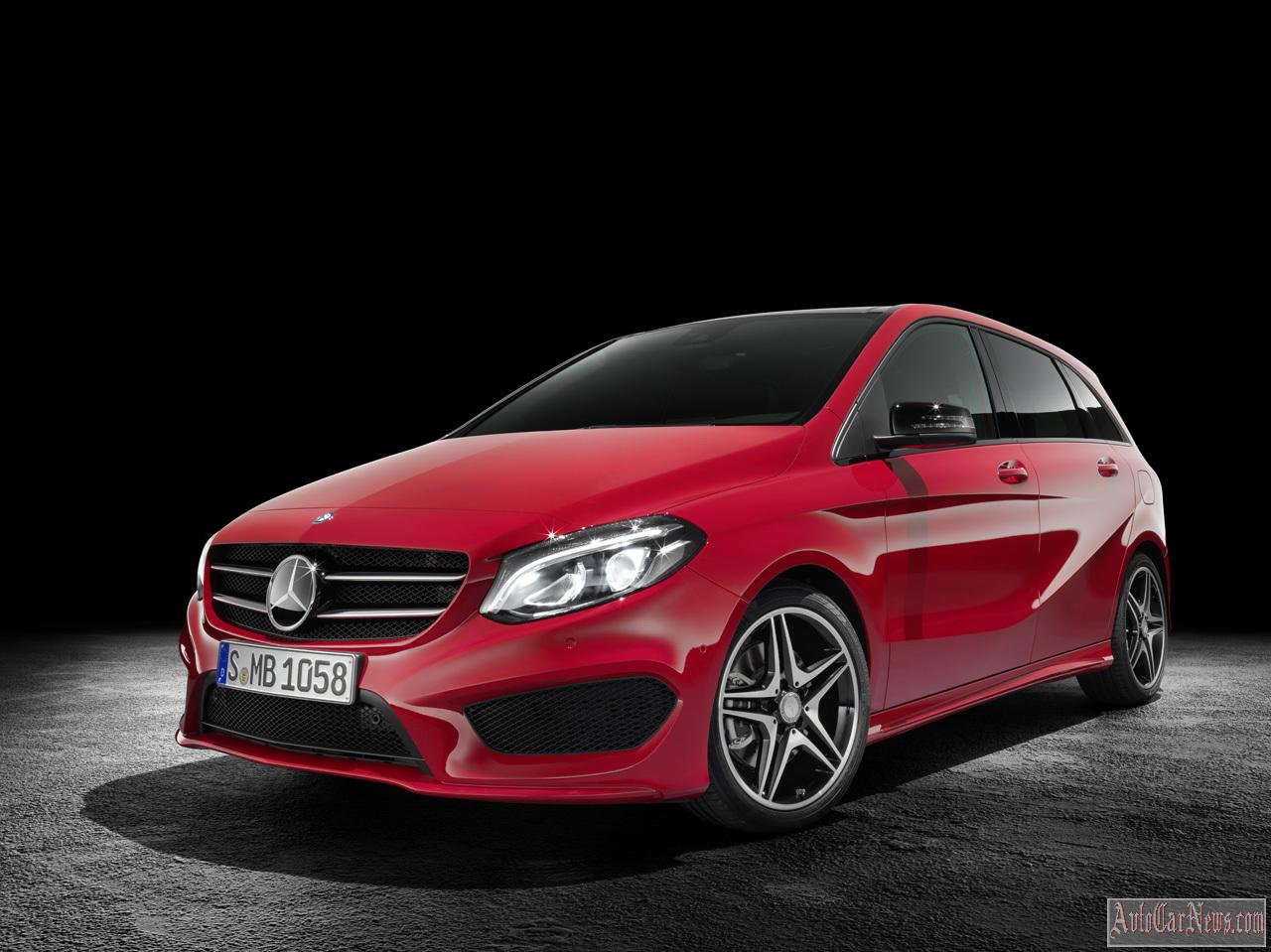 2015 Mercedes-Benz B-Class Photos