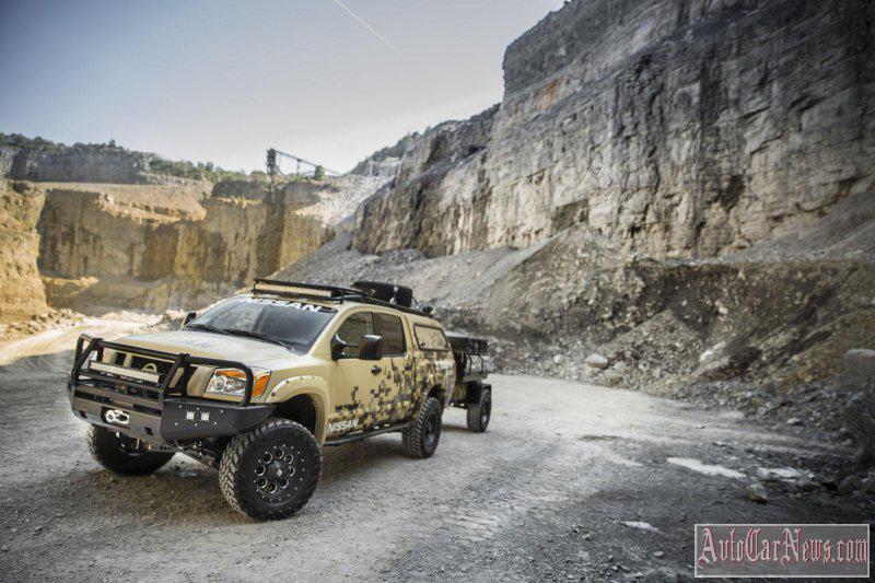 2015 Nissan project Titan Photos