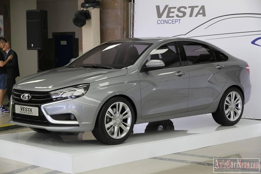 Lada Vesta Concept MMCC 2014 Photo