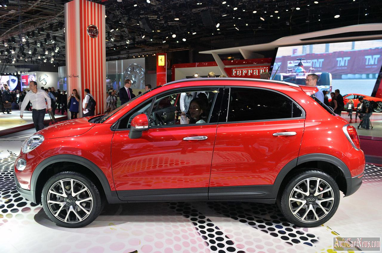 2015 Fiat 500X Paris 2014 Photos