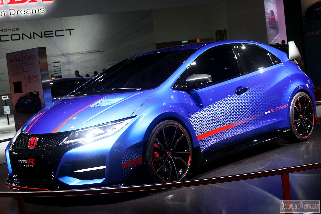 2015 Honda Civic Type R Concept Photos