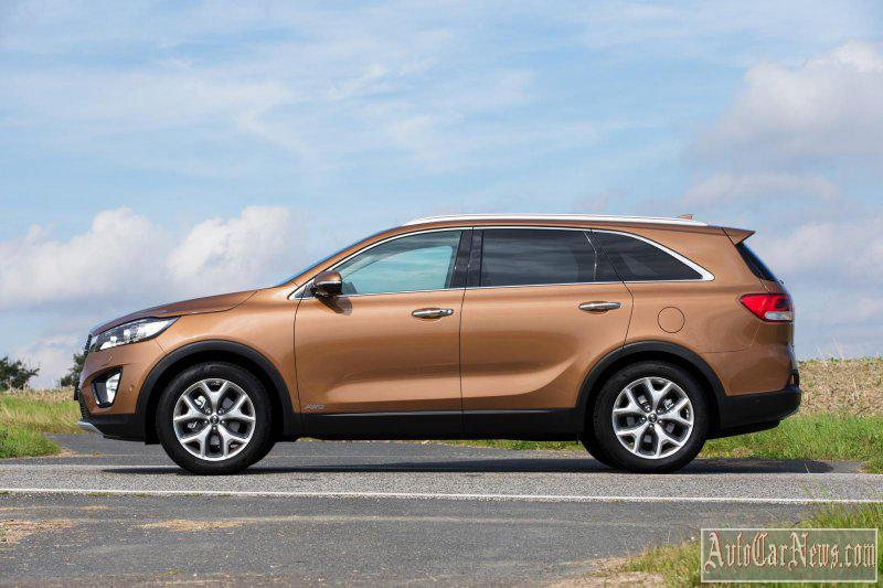 2015 Kia Sorento for Europe Photos