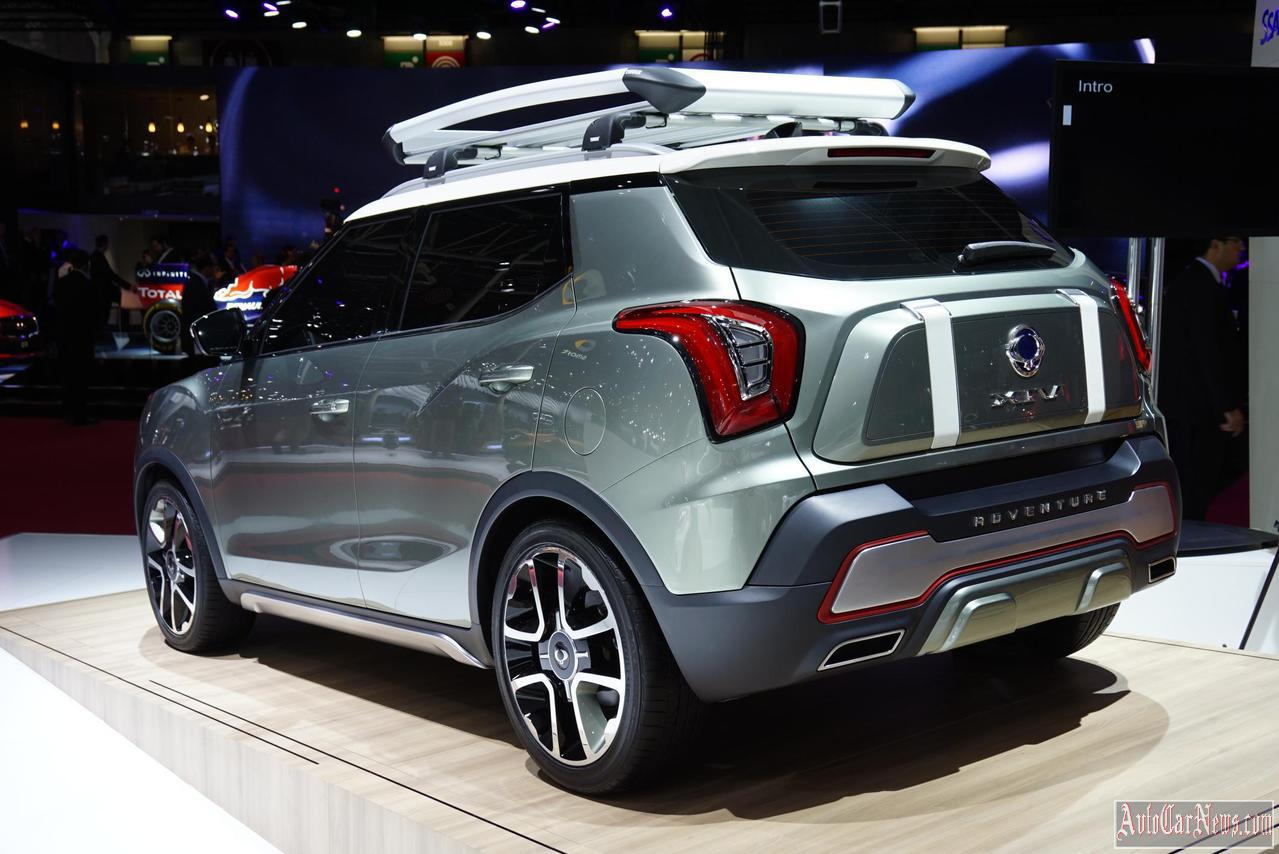 2015SsangYong XIV Adventure Concept Photo