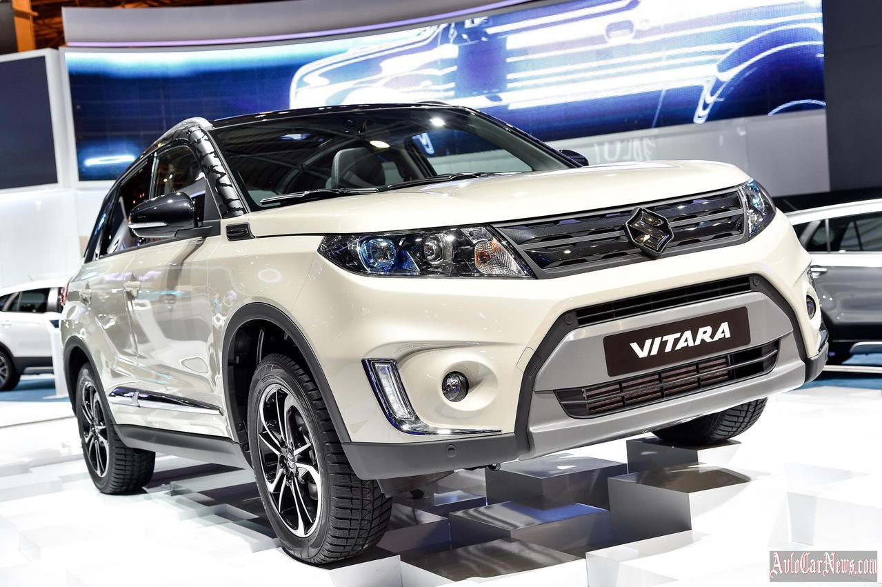 2015 Suzuki Vitara Paris 2014 Photo
