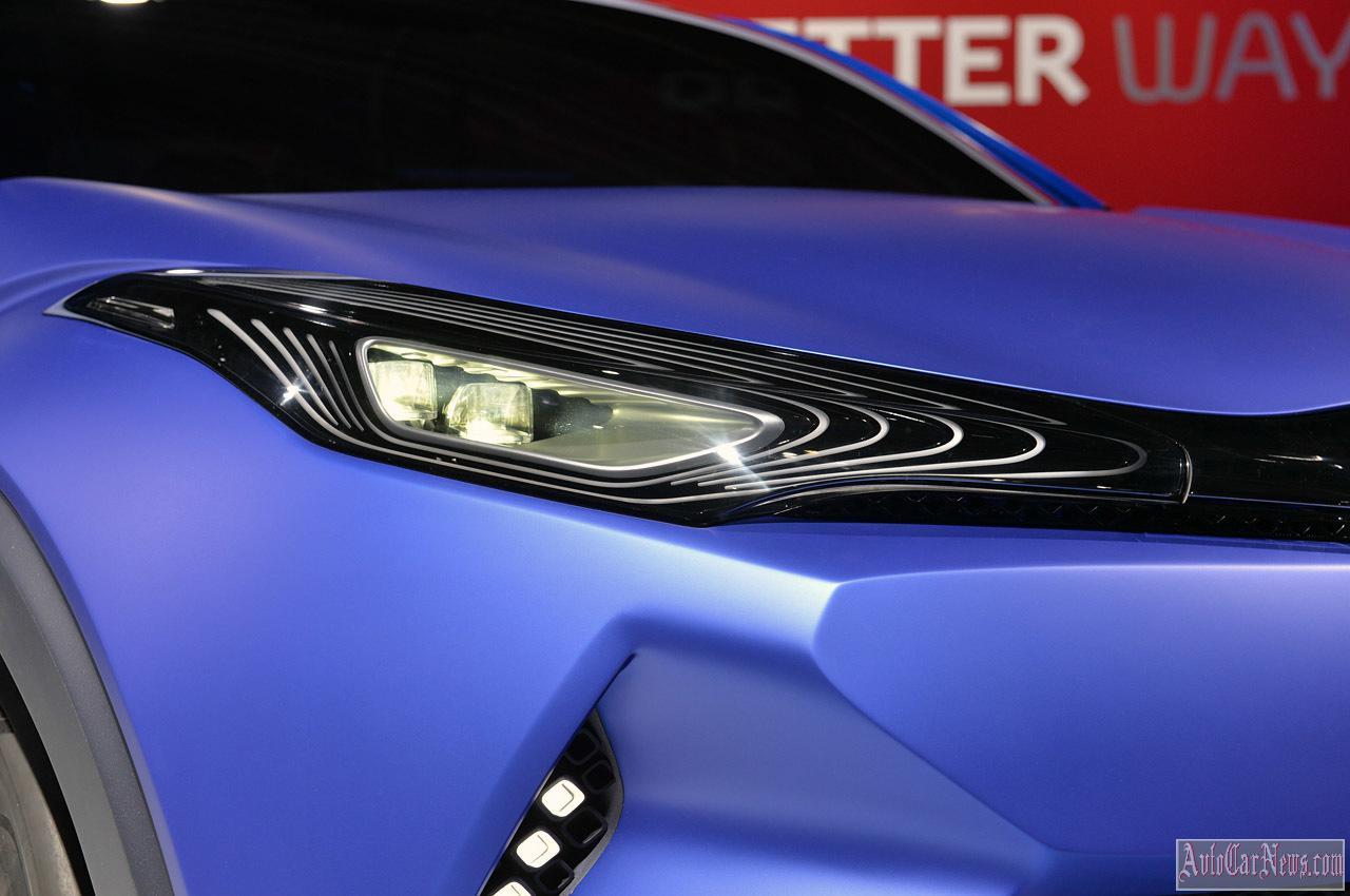 2015 Toyota C-HR Concept Paris 2014 Photo