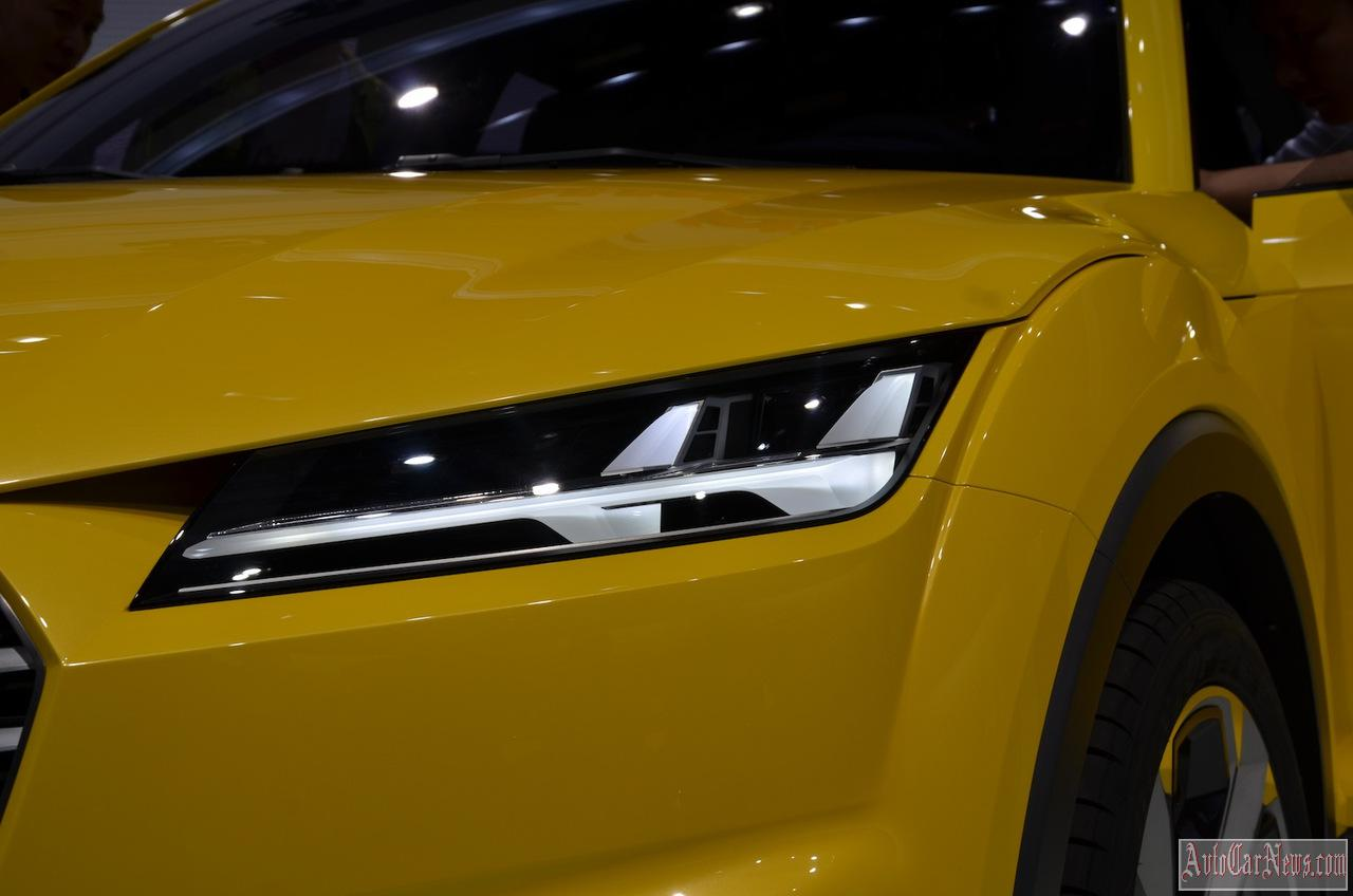 2015 Audi TT Offroad Concept Photos