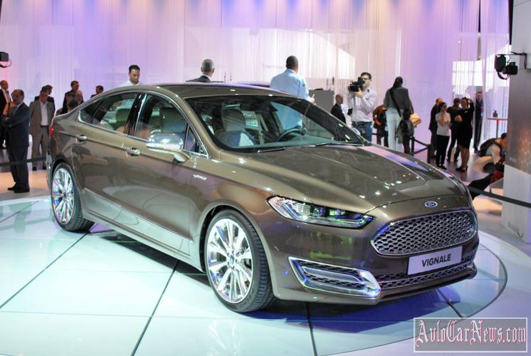 2015 Ford Mondeo Vignale in Russia Photo