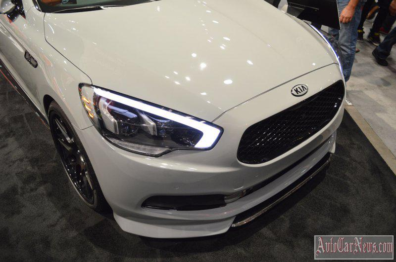 2015 Kia K900 SEMA-2014 Photos
