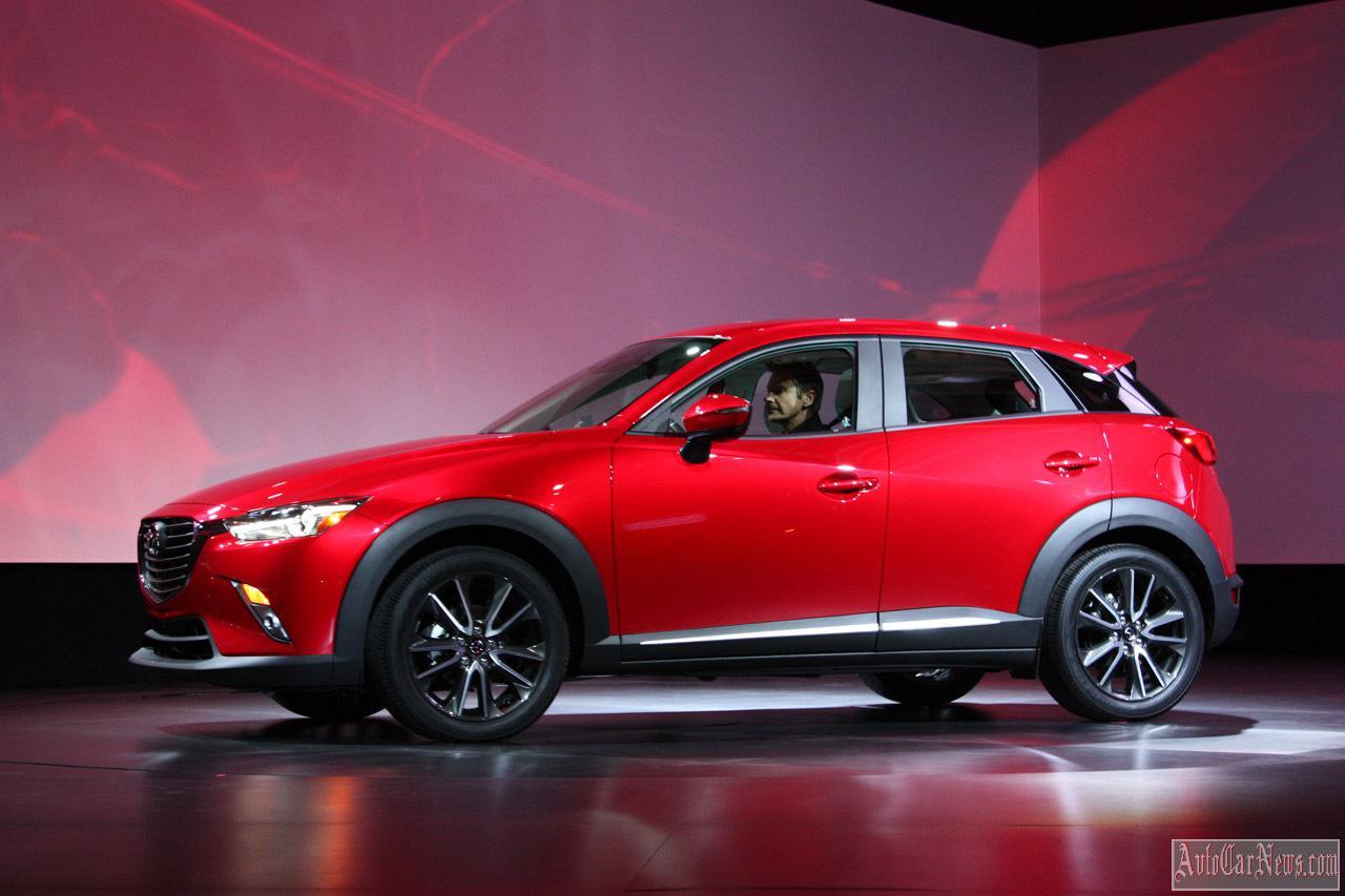 2015 Mazda CX-3: LA2014 Photo