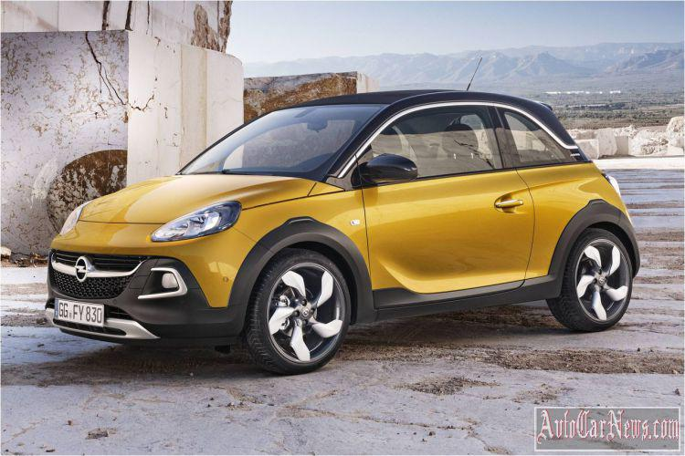 2015 Opel Adam Rocks in Russia Photo