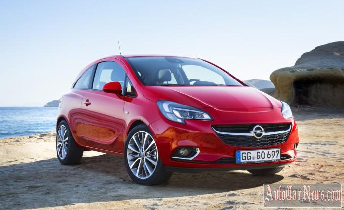 2015 Opel Corsa in Russia Photo