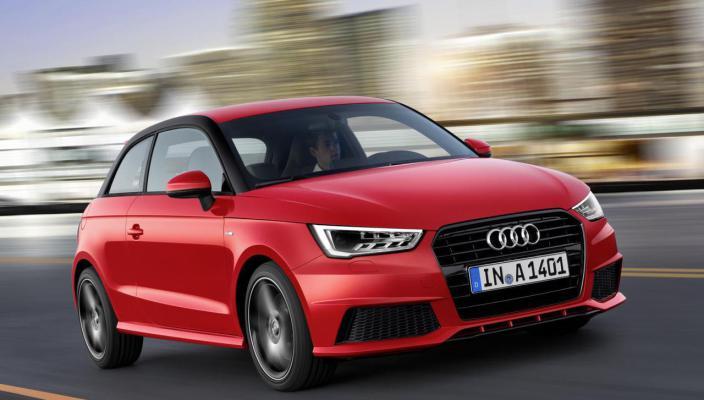 New 2015 Audi A1 Photos