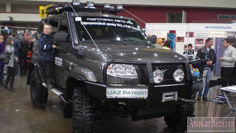 New 2015 UAZ Patriot Photo