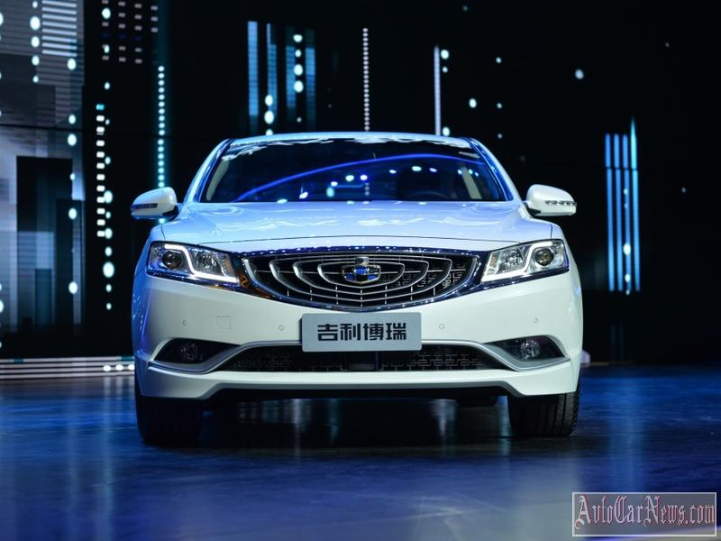 2015 Geely GC9 Photos