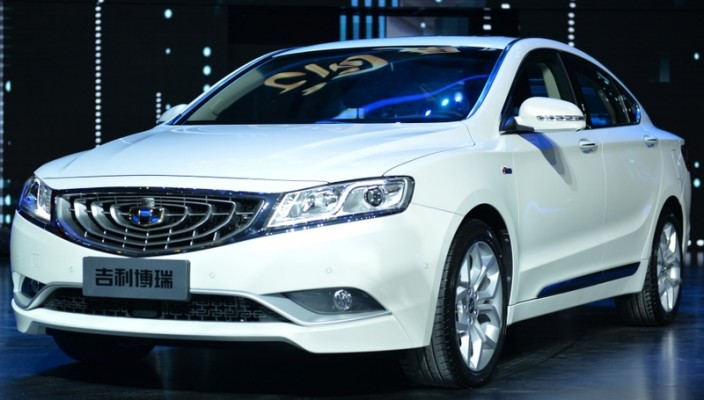 New 2015 Geely GC9 Photos