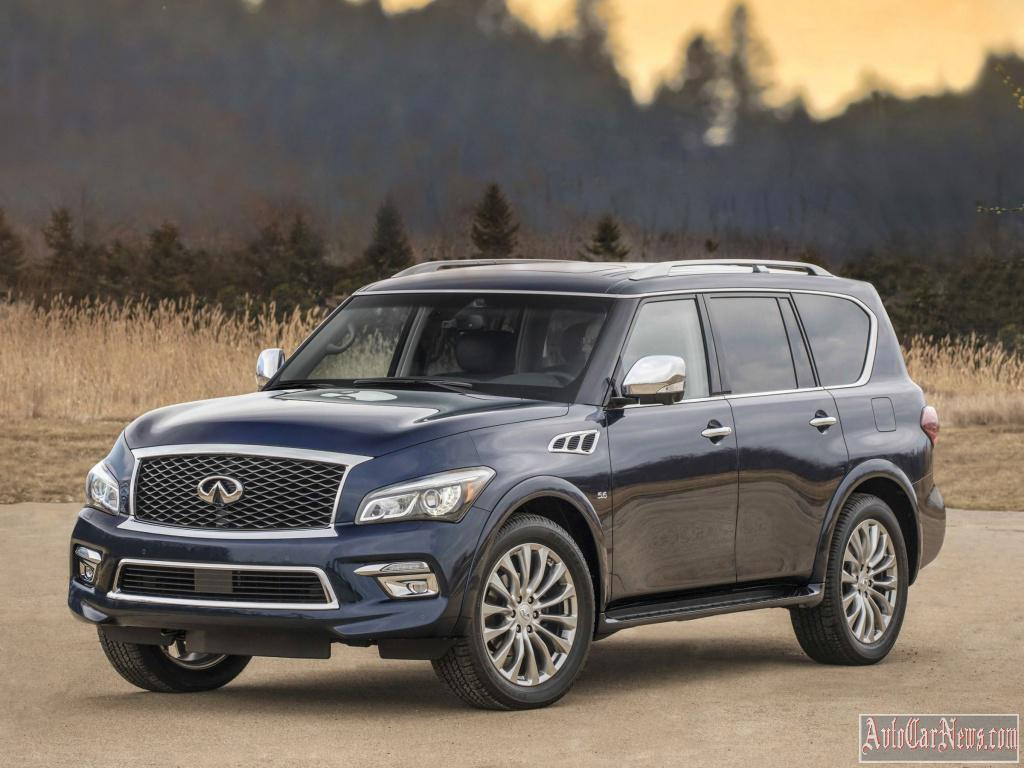 2015 Infiniti QX80 Photos