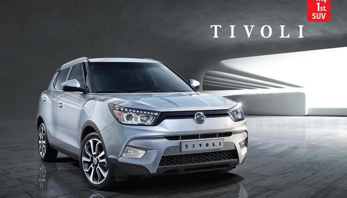 New 2015 SsangYong Tivoli Photo