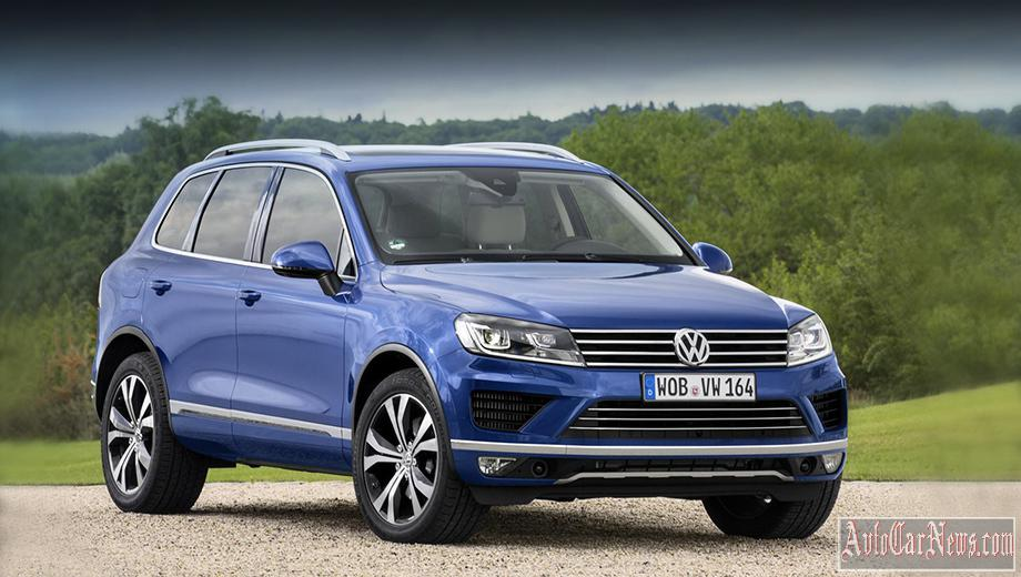 New Volkswagen Touareg 2015 Photos