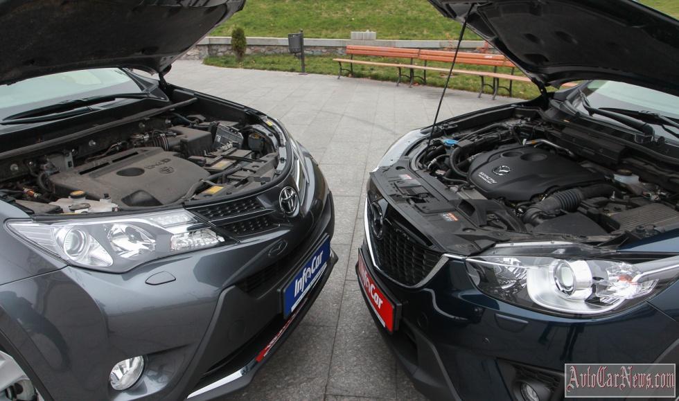 2014 Toyota RAV4 vs Mazda CX-5 Photo