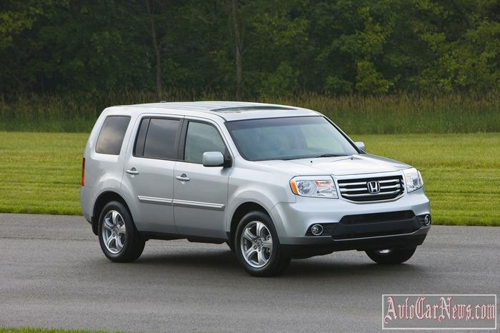 2015 Honda Pilot Photos