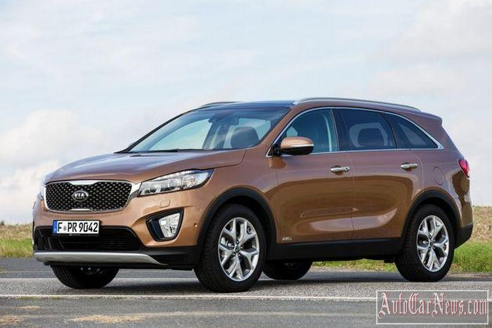 New 2015 Kia Sorento Photo