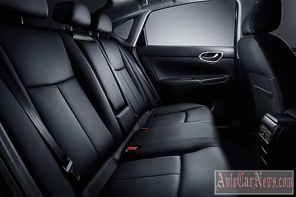 Новый Nissan Sentra 2015 фото