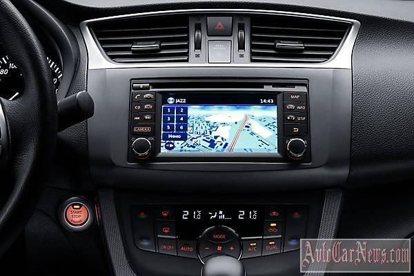 Фото нового авто 2015 Nissan Sentra