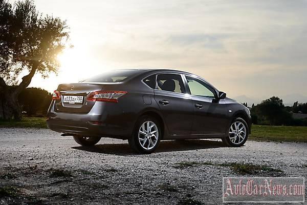 Новый авто Nissan Sentra 2015 фото
