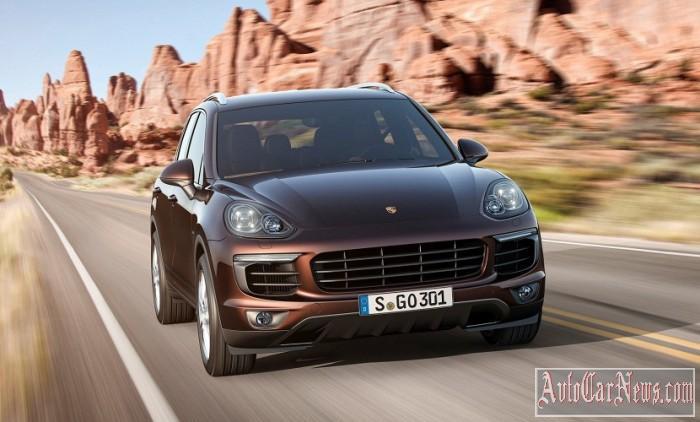 New 2015 Porsche Cayenne Photo