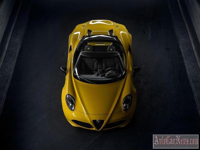 2016 Alfa Romeo 4C Spider Photo
