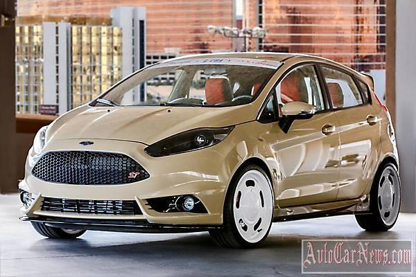 Фото Ford Fiesta Gene Marcel SEMA 2014