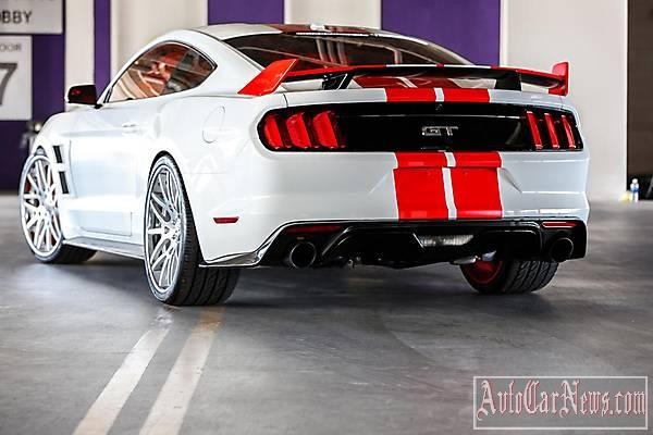 2014 Ford Mustang 3d Carbon SEMA фото
