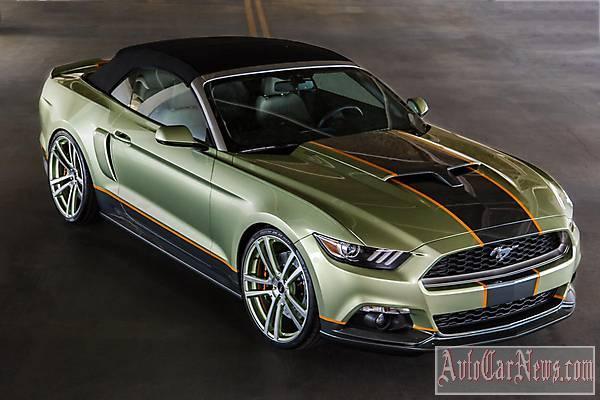2014 Ford Mustang Chip Foose SEMA фото