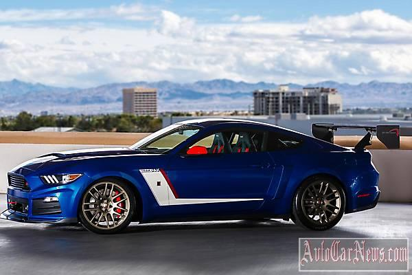 Фото Ford Mustang Rousch SEMA 2014