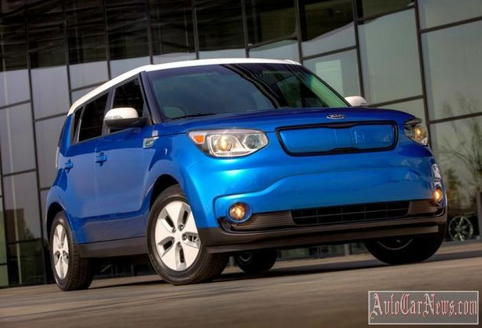 New 2015 Kia Soul EV Photo