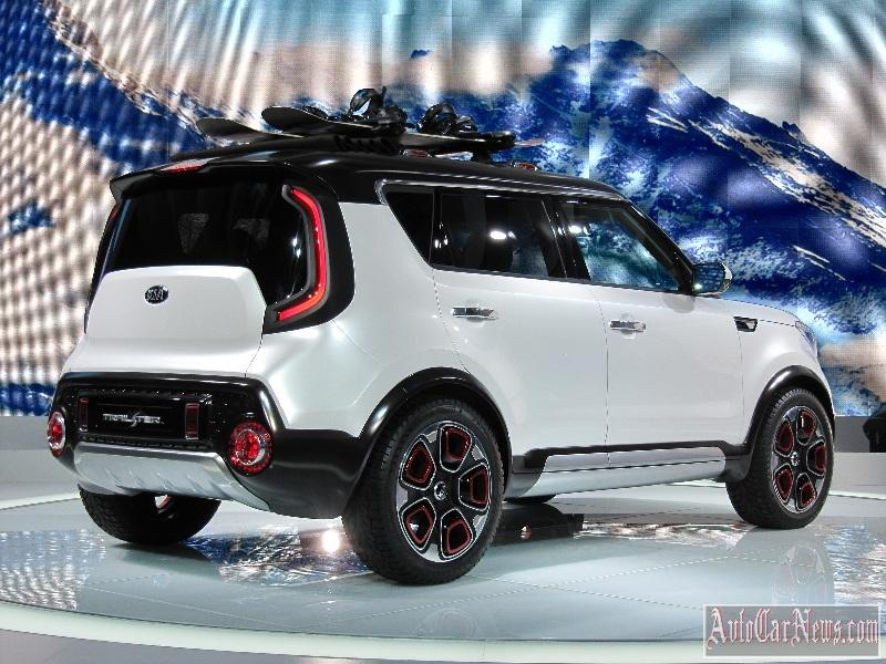 2015 Kia Trail'ster e-AWD Concept Photo